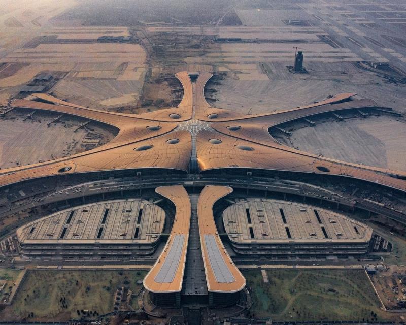 """Китай готовится открыть новый """"мега-аэропорт"""""""